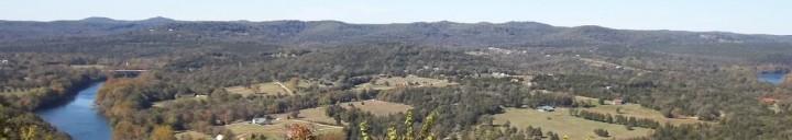 White River Valley, Eureka Springs, Arkansas