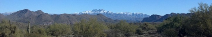 Four Peaks, Mazatzal Mountains Arizona